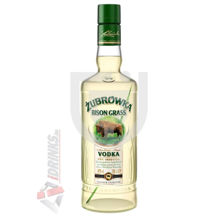 Zubrowka Vodka Bison Grass [1L|37,5%]