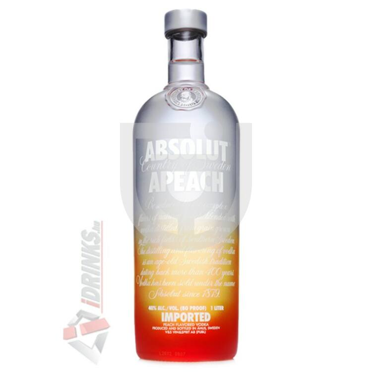 Absolut Apeach /Őszibarack/ Vodka [1L|40%]