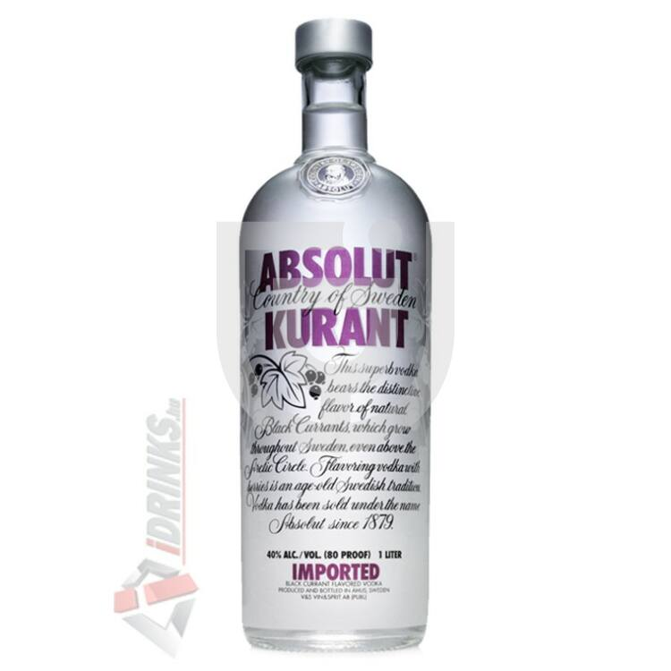 Absolut Kurant /Feketeribizli/ Vodka [0,7L|40%]