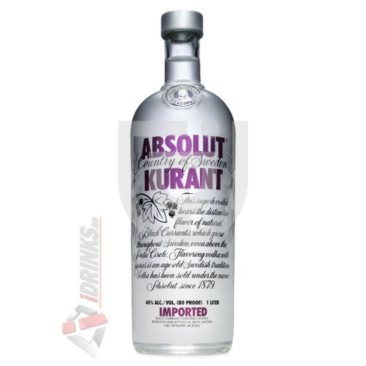 Absolut Kurant /Feketeribizli/ Vodka [0,7L|40%]