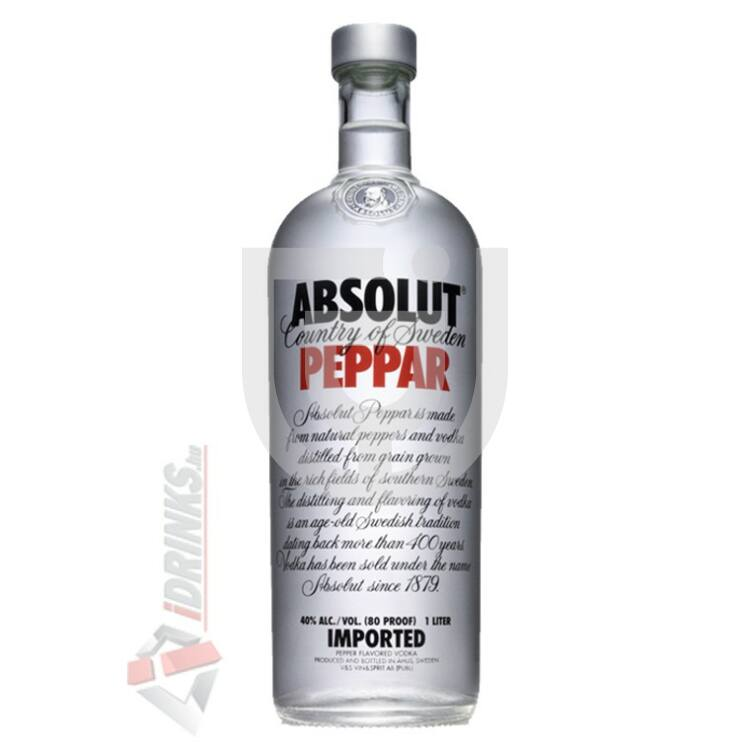Absolut Peppar /Paprika/ Vodka [1L|40%]