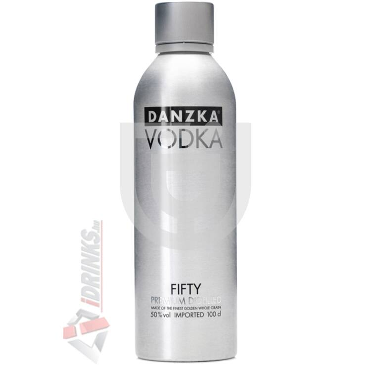 Danzka Fifty Premium Distilled Vodka [1L|50%]