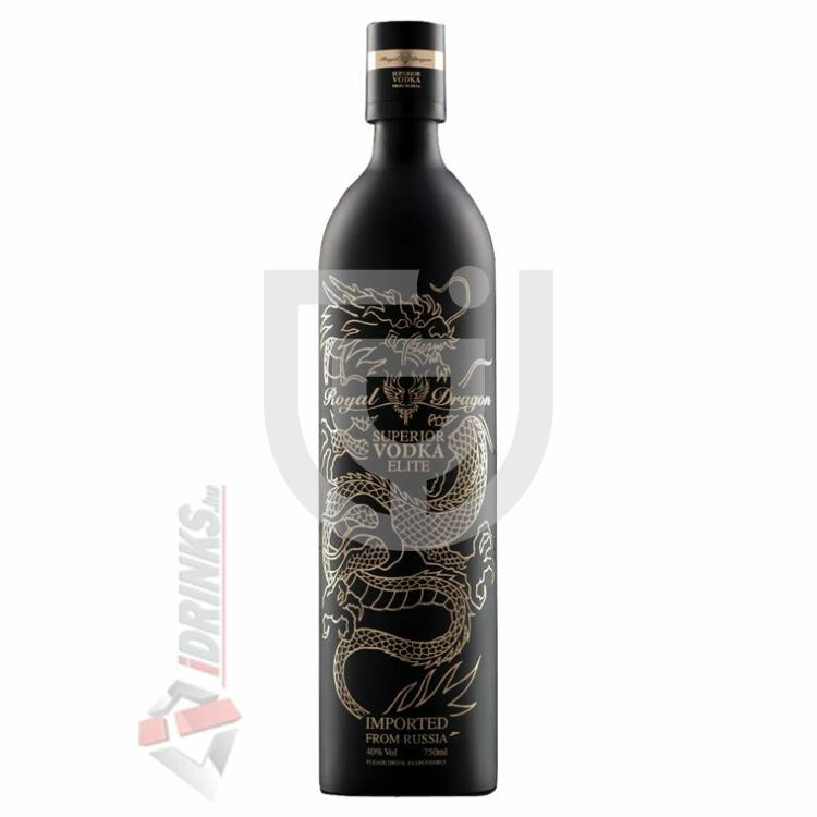 "Royal Dragon Elite ""Black"" Vodka [0,7L