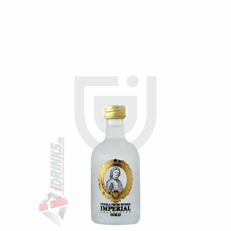 Russian Carskaja Imperial Gold Vodka Mini [0,05L 40%]