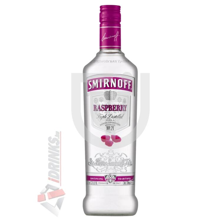 Smirnoff Raspberry /Málna/ Vodka [0,7L|37,5%]