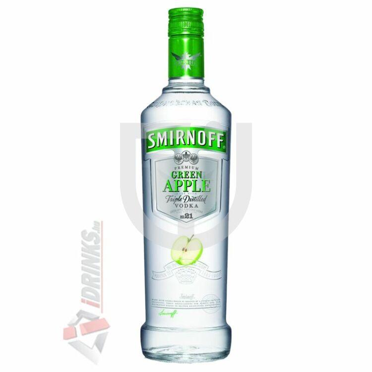 Smirnoff Green Apple /Zöldalma/ Vodka  [0,7L|37,5%]