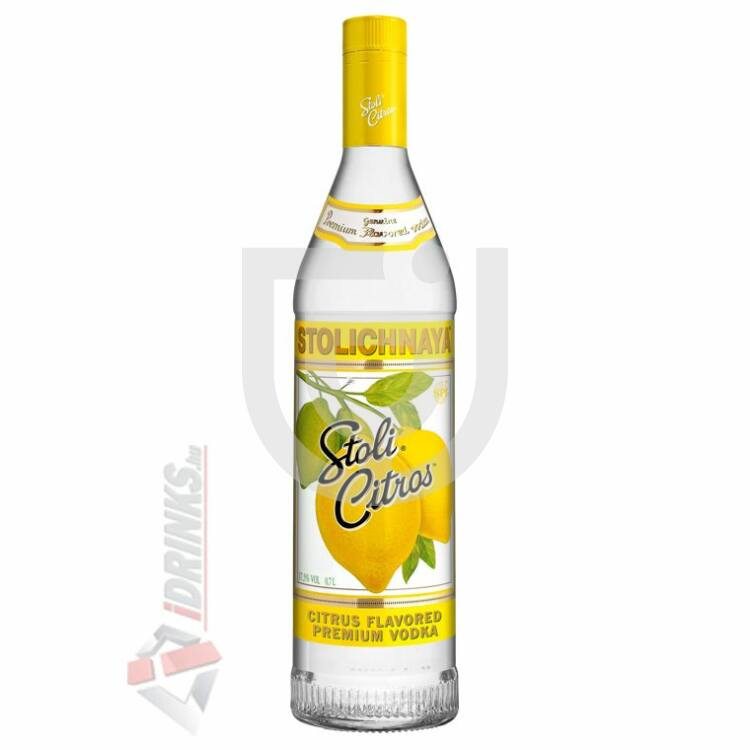 Stolichnaya Citrom Vodka [0,7L 37,5%]