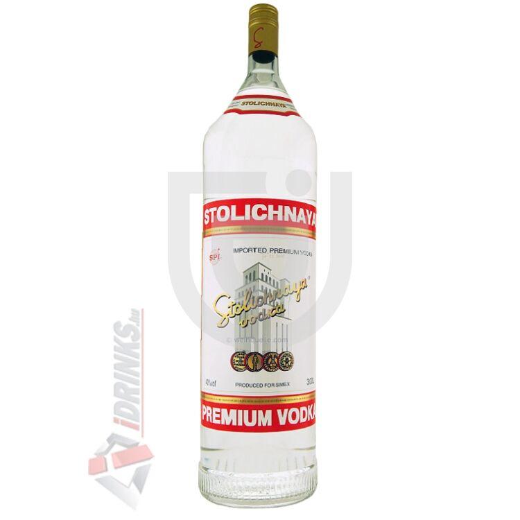 Stolichnaya Vodka [3L 40%]