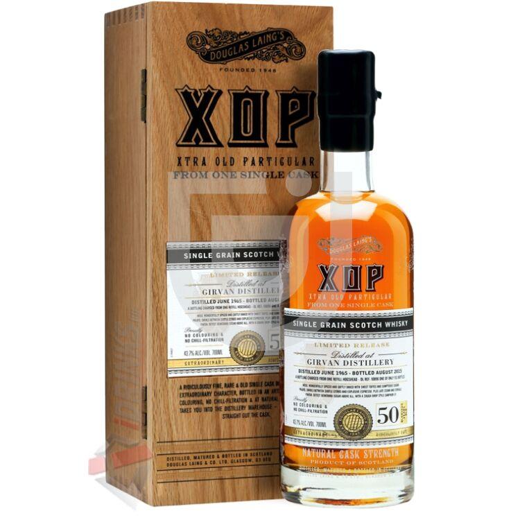 XOP Douglas Laing 50 Years Girvan Whisky [0,7L 43,7%]