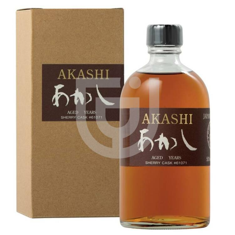 Akashi Single Malt Ex Sherry Cask 6 Years Whisky [0,7L 62%]