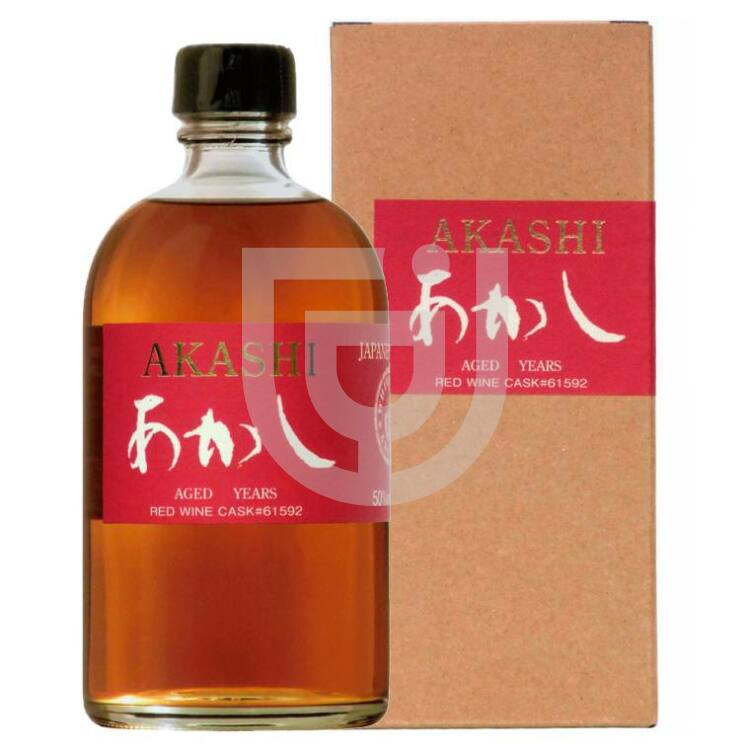 Akashi Single Malt Red Wine Cask 4 Years Whisky [0,7L|62%]