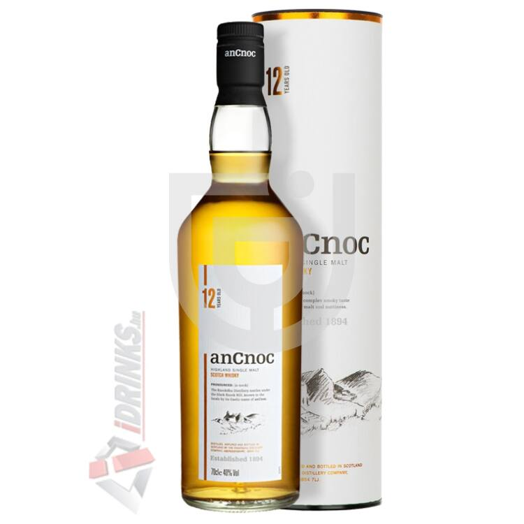 anCnoc 12 Years Whisky [0,7L|40%]