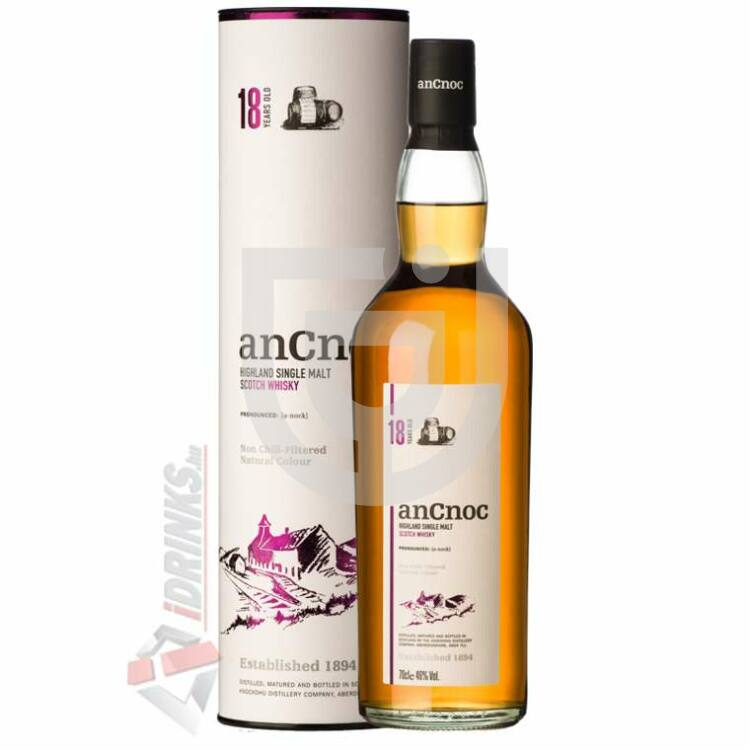 anCnoc 18 Years Whisky [0,7L|46%]