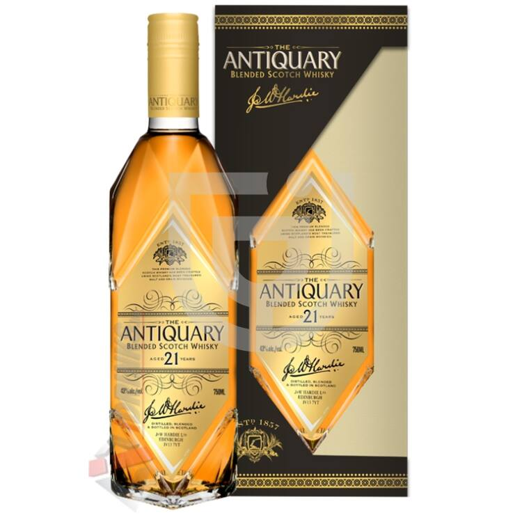 Antiquary 21 Years Whisky [0,7L|43%]