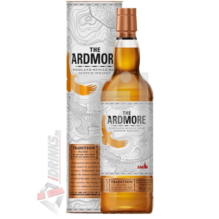Ardmore Traditional Peated Whisky [1L|40%]