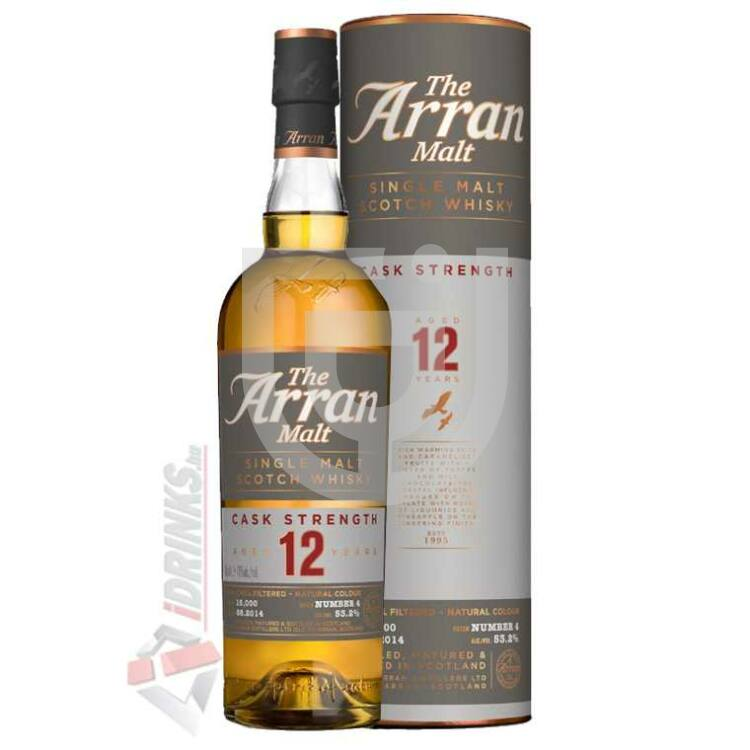Arran 12 Years Cask Strength Whisky [0,7L|52,9%]