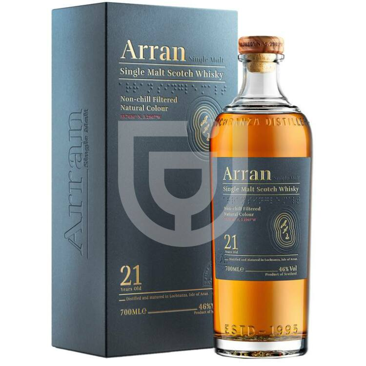 Arran 21 Years Whisky [0,7L|46%]