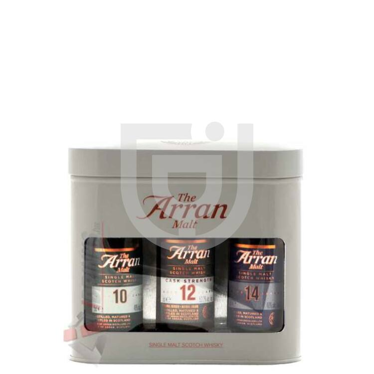 Arran Tripack Whisky Mini [0,15L|48,4%]