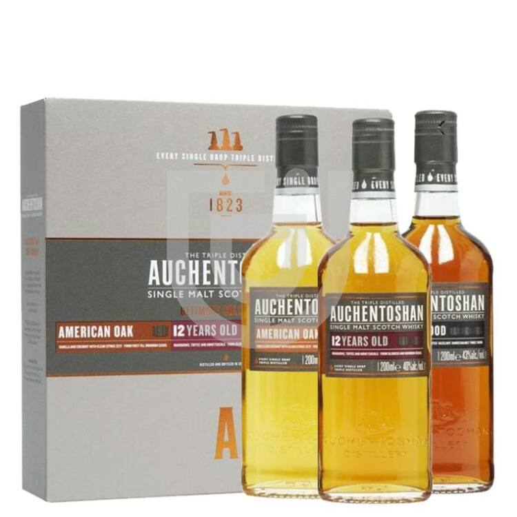 Auchentoshan Ultimate Collection Whisky Pack [3*0,2L 41%]