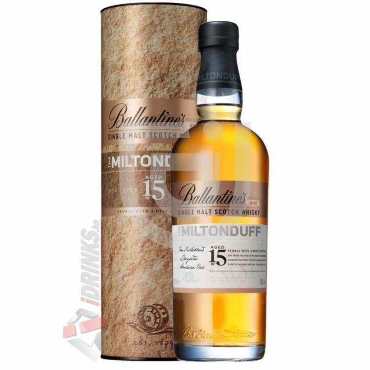Ballantines 15 Years Miltonduff Single Malt Whisky [0,7L 40%]