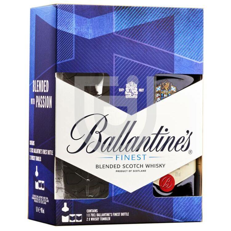 Ballantines Whisky (DD+Pohár) [0,7L 40%]