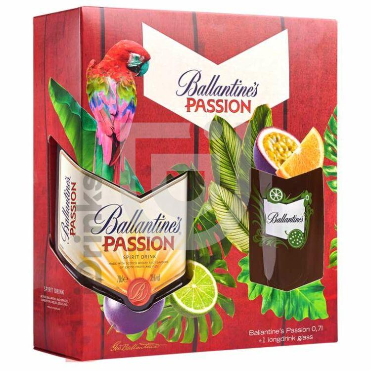 Ballantines Passion (DD+Pohár) [0,7L|35%]