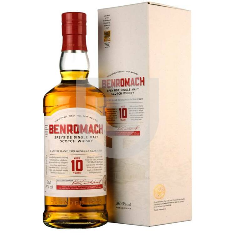 Benromach 10 Years Whisky [0,7L|43%]