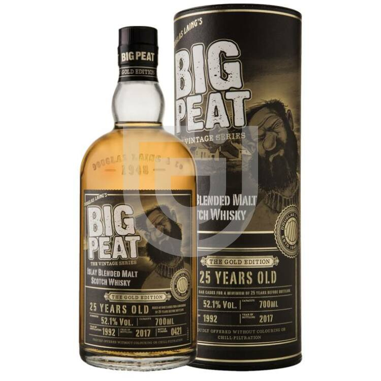 Big Peat 25 Years Gold Edition Whisky [0,7L|52,1%]
