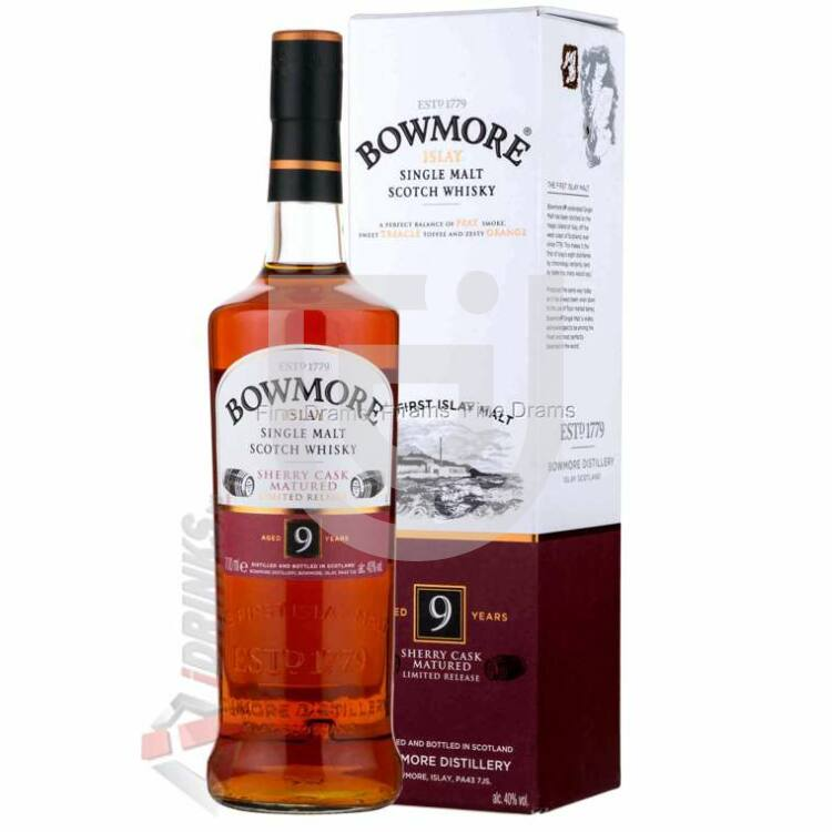 Bowmore 9 Years Whisky [0,7L|40%]
