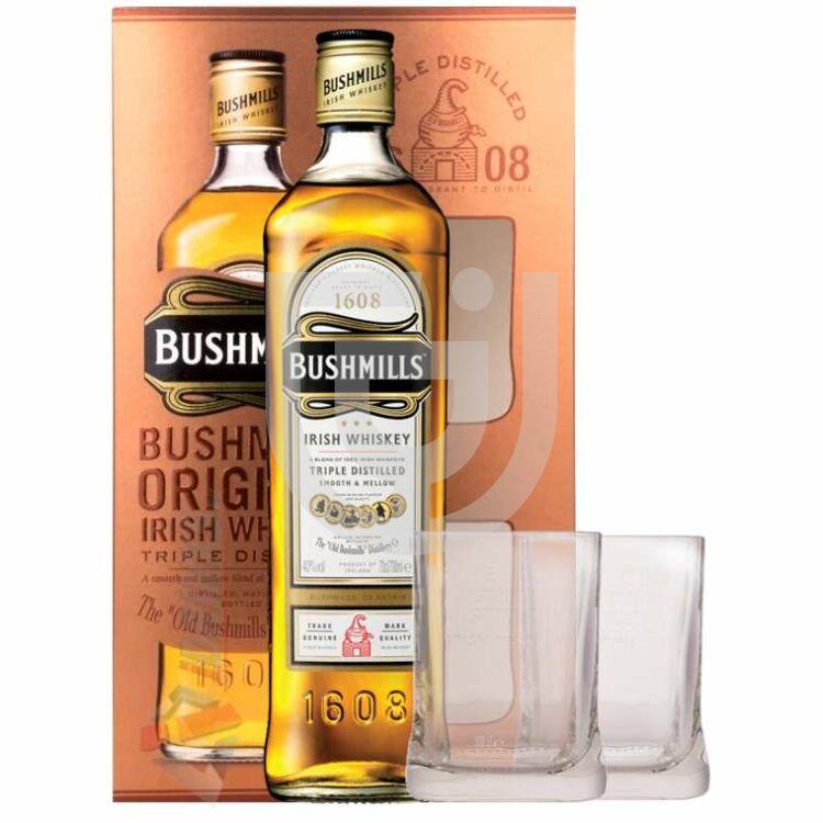 Bushmills Original Whiskey (DD+ 2 Pohár) [0,7L|40%]