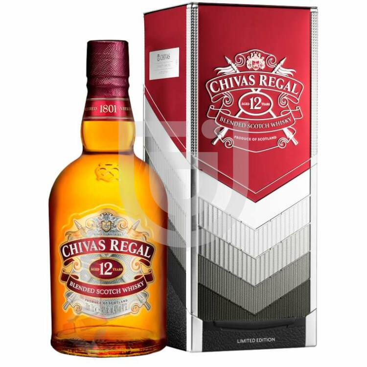 Chivas Regal 12 Years Whisky Limited Edition by Vertu (FDD) [0,7L|40%]