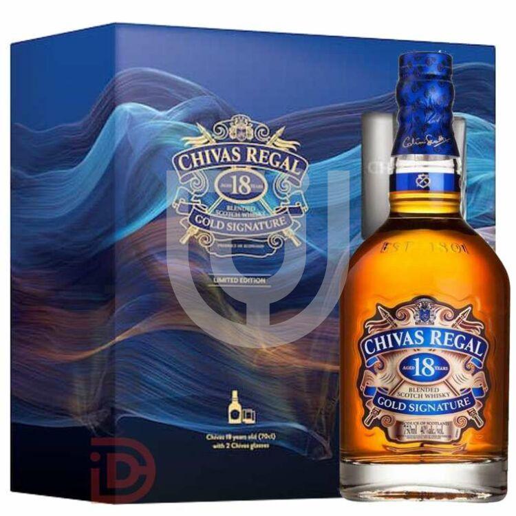 Chivas Regal 18 Years Whisky (DD+2 Pohár) [0,7L 40%]