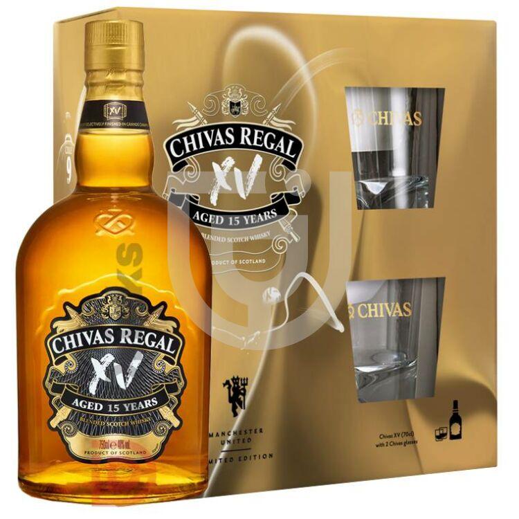 Chivas Regal XV 15 Years Whisky (DD+2 Pohár) [0,7L 40%]