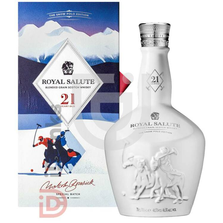 Chivas Regal Royal Salute 21 Years Snow Polo Edition Whisky [0,7L|40%]