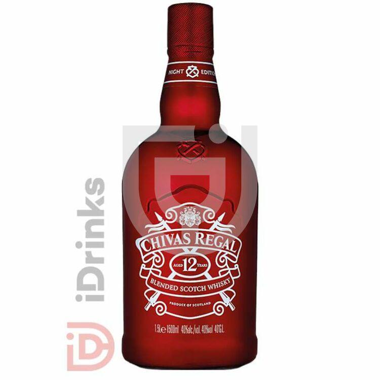 "Chivas Regal 12 Years Whisky ""Night Bottle"" [1,5L|40%]"