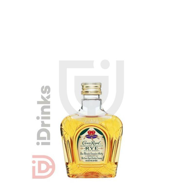 Crown Royal Northern Harvest Rye Whiskey Mini [0,05L|45%]