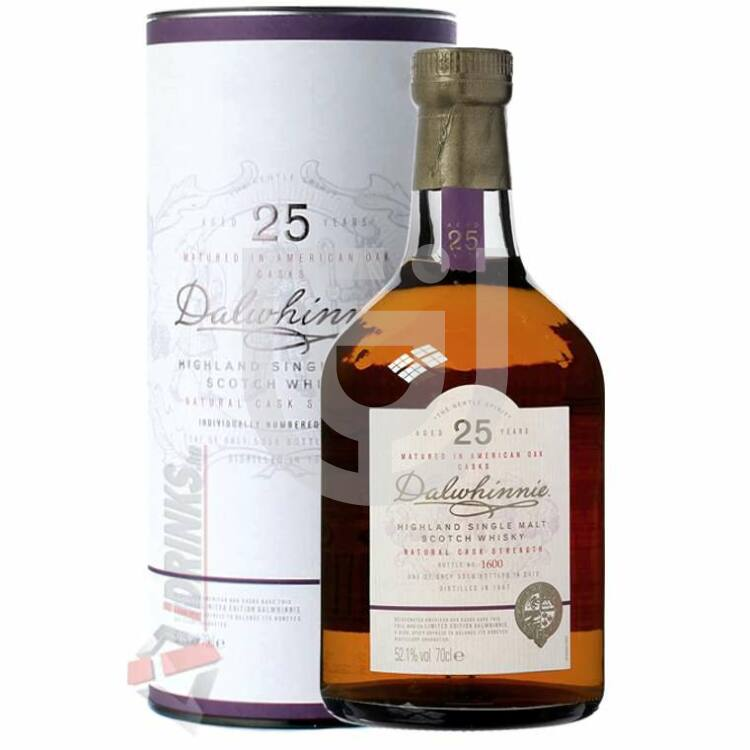 Dalwhinnie 25 Years Whisky [0,7L|52,1%]