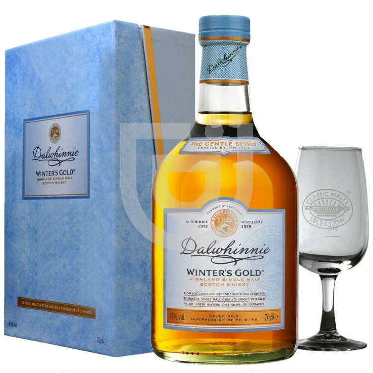 Dalwhinnie Winter Gold Whisky (DD+2 Pohár) [0,7L|43%]