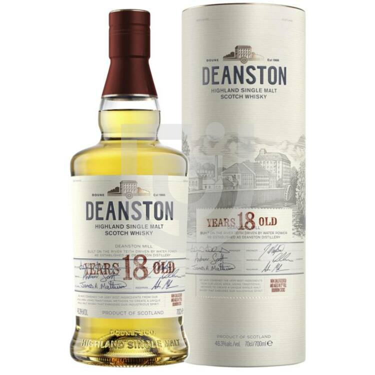 Deanston 18 Years Whisky [0,7L 46,3%]