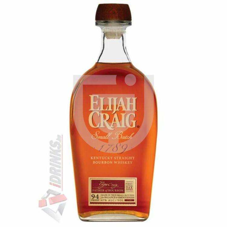 Elijah Craig Small Batch Whiskey [0,7L 47%]