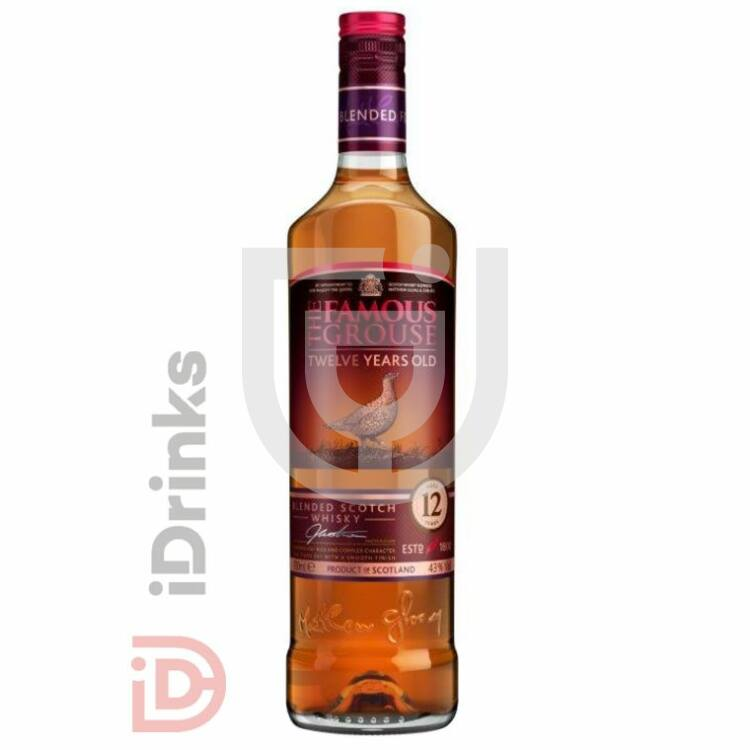 Famous Grouse 12 Years Whisky [0,7L|40%]