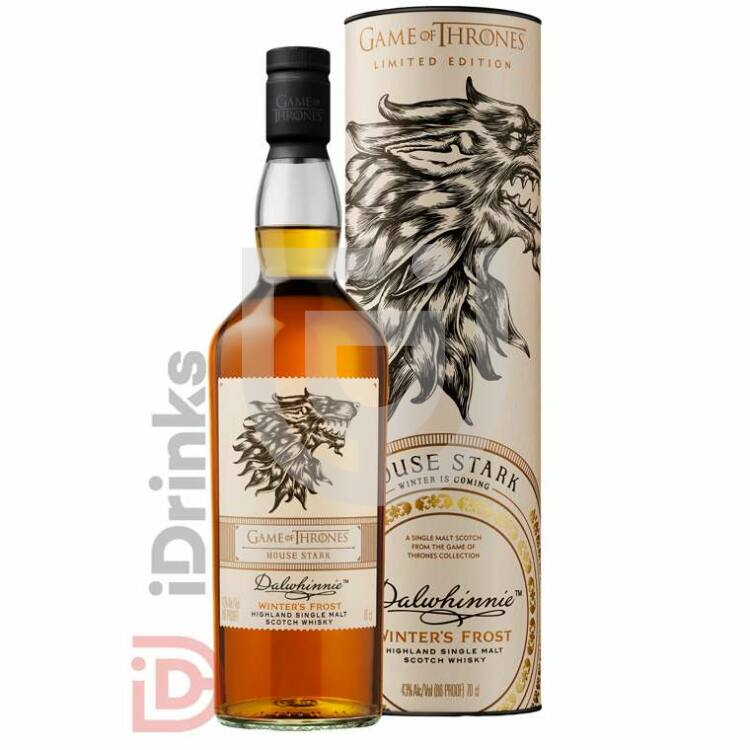 House Stark & Dalwhinnie Winter's Frost Whisky - Game of Thrones Collection [0,7L|43%]