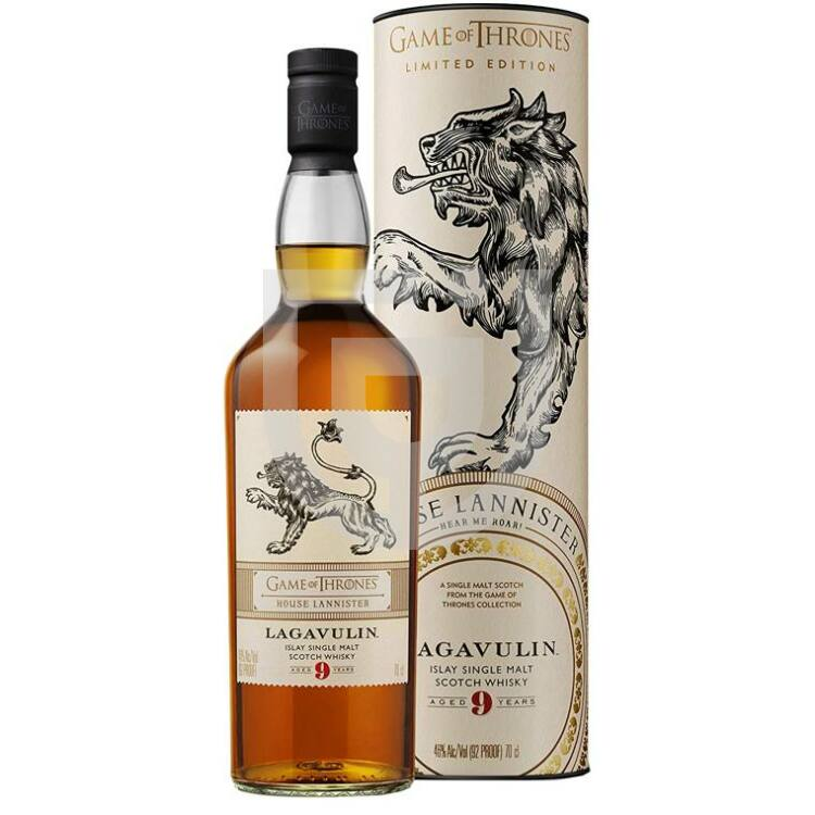 House Lannister & Lagavulin 9 Years Whisky - Game of Thrones Collection [0,7L 46%]
