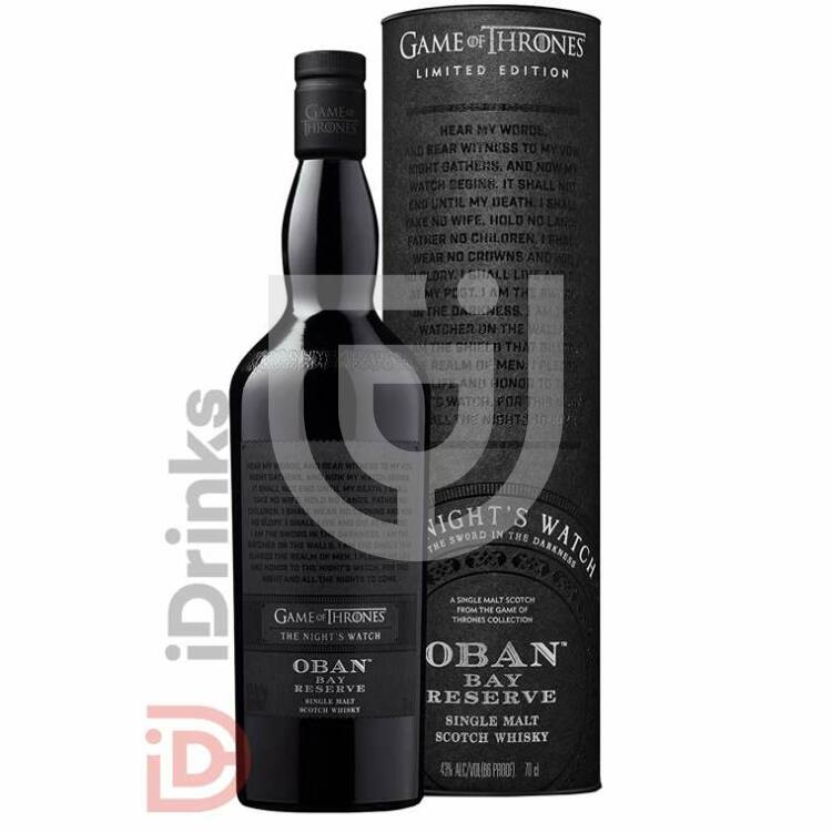 Night's Watch & Oban Bay Reserve Whisky - Game of Thrones Collection [0,7L|43%]