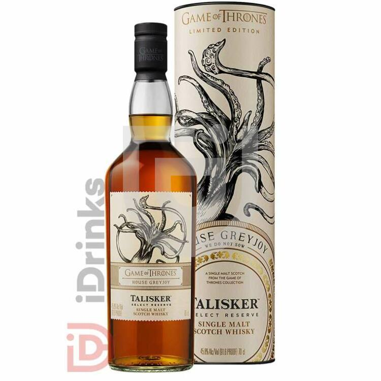 House Greyjoy & Talisker Select Reserve Whisky - Game of Thrones Collection [0,7L|45,8%]