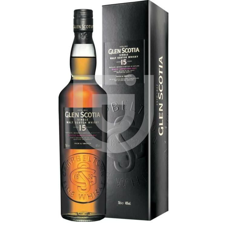 Glen Scotia 15 Years Whisky [0,7L 46%]