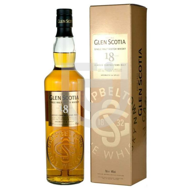 Glen Scotia 18 Years Whisky [0,7L|46%]