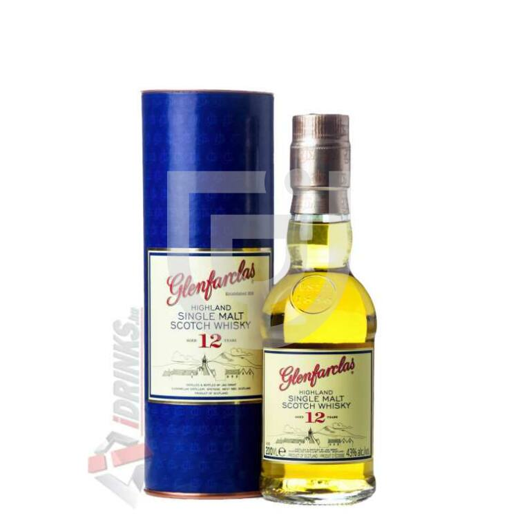 Glenfarclas 12 Years Whisky Midi [0,2L|43%]