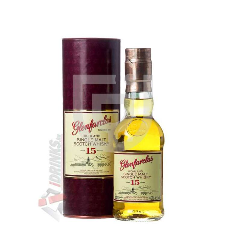 Glenfarclas 15 Years Whisky Midi [0,2L 46%]