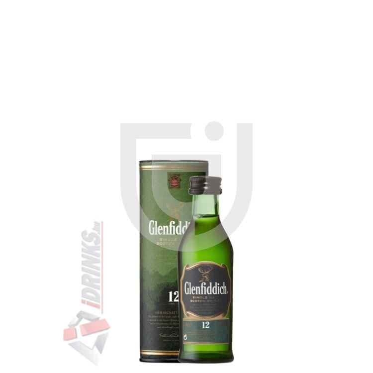 Glenfiddich 12 Years Whisky Mini (DD) [0,05L 40%]